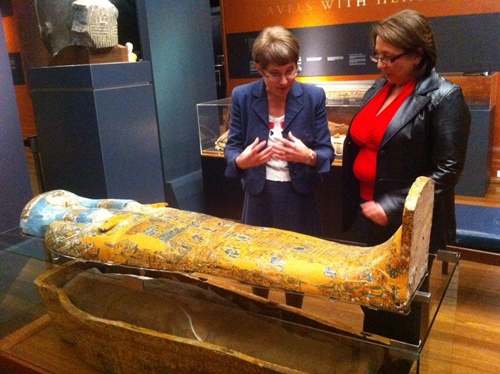Mummy mysteries unraveled with high tech help