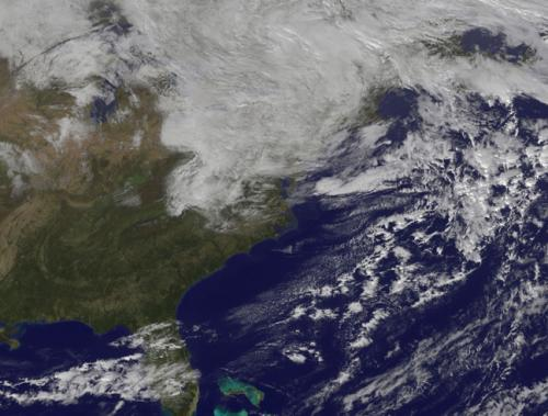 NASA adds up Hurricane Sandy's rainfall from space