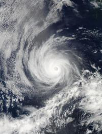 NASA's Aqua satellite providing 2 views of Hurricane Emilia
