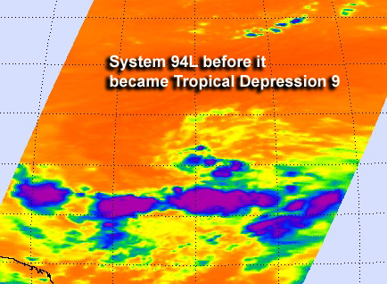 NASA sees an active tropical Atlantic again