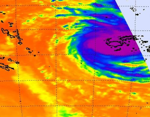 NASA sees dangerous category 4 Cyclone Evan lashing Fiji