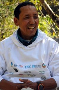 Nepalese mountaineer Apa Sherpa is dubbed the