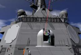 New ONR program aims to develop solid-state laser weapons for ships