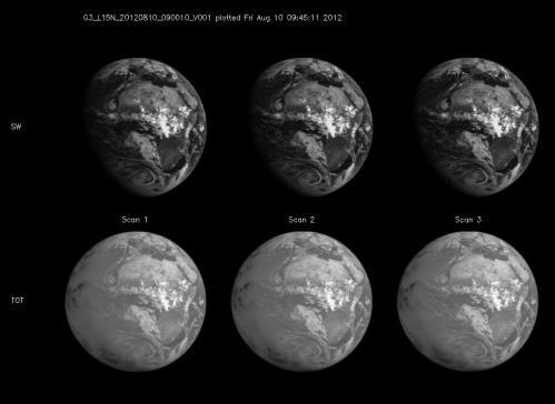 New satellite has begun taking the Earth's temperature