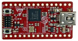 NXP ships LPC11U30 USB microcontrollers with 128 KB flash
