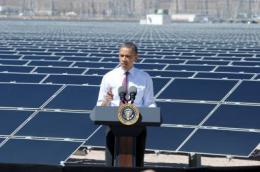 President Obama visits solar power plant using technology developed by UC San Diego engineers