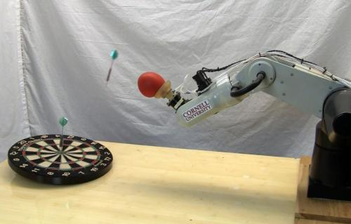Research group extends capabilities of jamming universal gripper robot arm effector (w/ video)