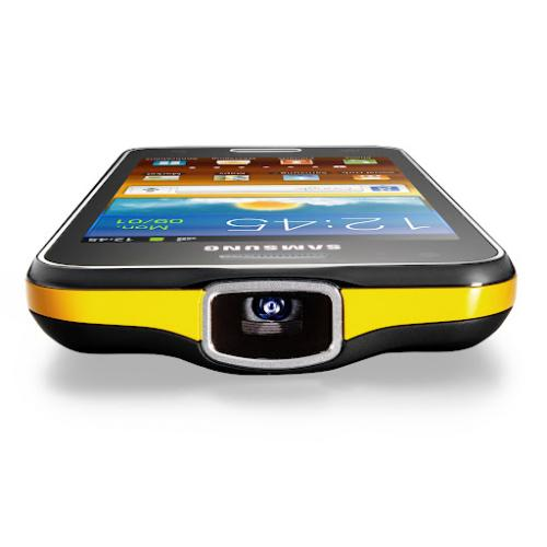Samsung announces the Galaxy Beam Smartphone with built-in projector