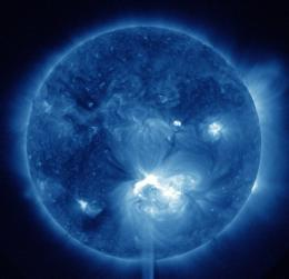 Solar storm barreling toward Earth this weekend