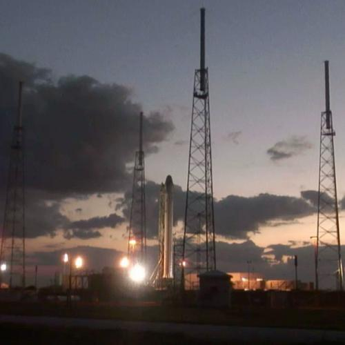 """SpaceX completes important """"wet dress"""" rehearsal test for upcoming flight to space station"""