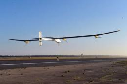Swiss-made solar-powered aircraft Solar Impulse
