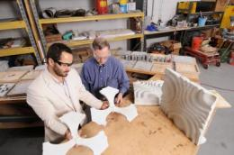 Technique enables mass production of custom concrete building components from digital designs