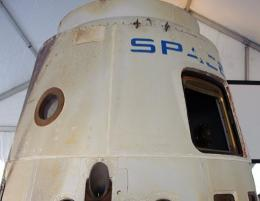 The SpaceX Dragon spacecraft, pictured in 2011