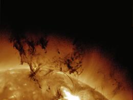 The Sun's crowning glory