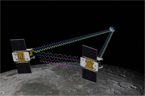 Twin Grail spacecraft begin collecting lunar science data