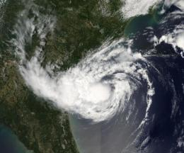 Two NASA satellites spy Alberto, the Atlantic Ocean season's first tropical storm