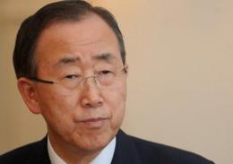 UN chief Ban Ki-moon has highlighted the 'grave threat' from pollution, excessive fishing and global warming