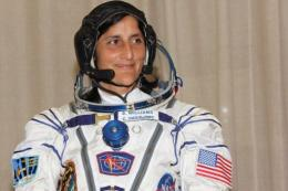 US astronaut Sunita Williams has become the second woman ever to take command of the International Space Station