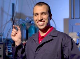 Using graphene foam to detect subtle traces of hazardous gases, explosives