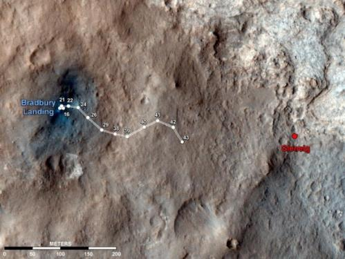Weird Mars Rock Has Interesting Back Story