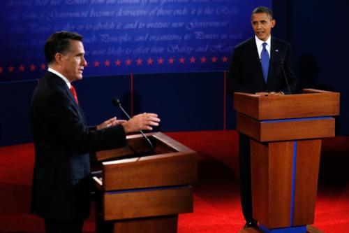 Who won the first debate?