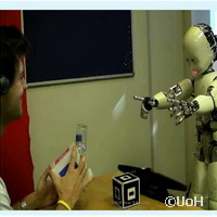 Researchers investigate early language acquisition in robots