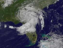 NASA satellites watch Tropical Storm Beryl