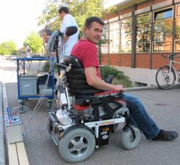 Improved ergonomics for wheelchair users