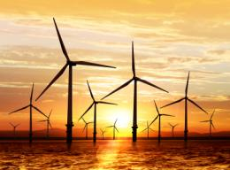 Wind turbines - bigger means more environmentally friendly