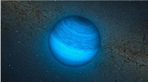 Astronomers find 'homeless' planet wandering through space