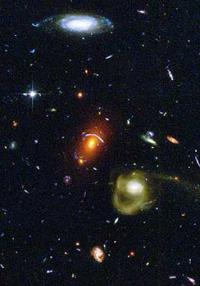 Baby galaxies grew up quickly