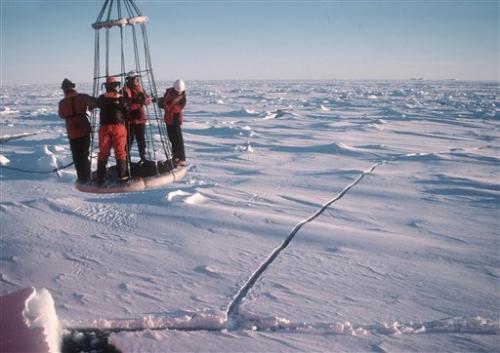Experts: Global warming means more Antarctic ice