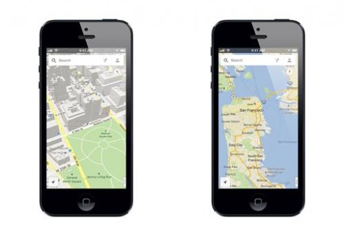 Google Maps app rockets up iTunes store list