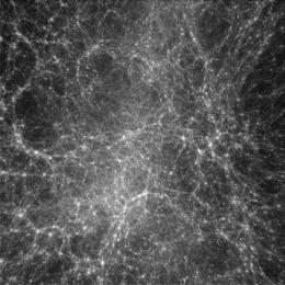 Missing dark matter located: Intergalactic space is filled with dark matter
