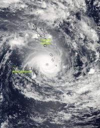 NASA sees Tropical Cyclone Jasmine over Vanuatu and New Caledonia