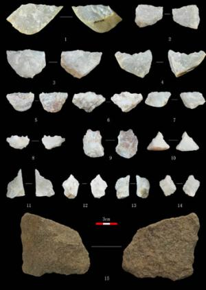 New Paleolithic site in Gansu Province