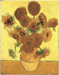 Scientists reveal genetic mutation depicted in van Gogh's sunflower paintings