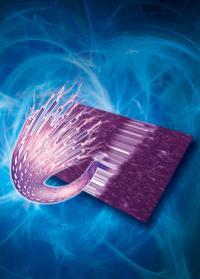 Self-assembling highly conductive plastic nanofibers