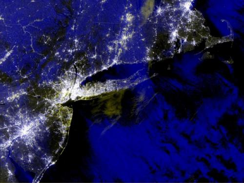 SPoRT captures scope of Hurricane Sandy outages