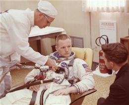 To hero-astronaut Armstrong, moonwalk 'just' a job