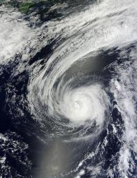 Typhoon Sanvu had a bad weekend