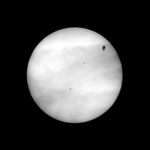 Venus transit movie shows perspective in viewing our solar system