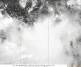 NASA satellite spots newborn Tropical Depression Doksuri in W. Pacific