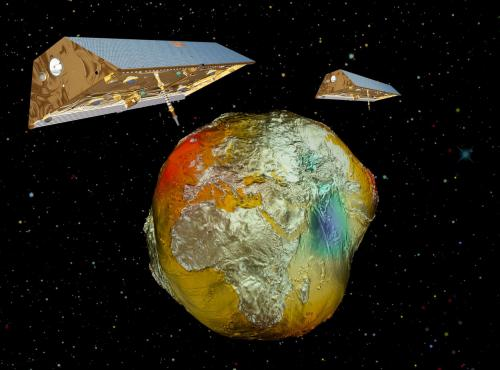 'Gravity is climate' - 10 years of climate research satellites GRACE
