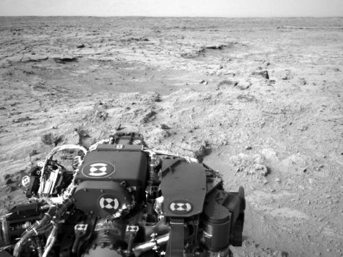 Curiosity rover preparing for Thanksgiving activities
