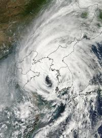NASA sees Tropical Storm Bolaven making landfall in North Korea
