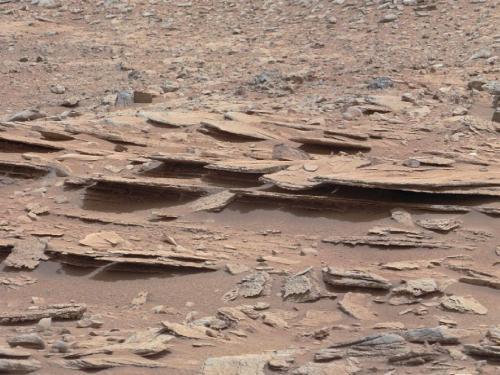 Curiosity rover nearing Yellowknife Bay
