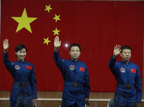 China sending first woman in space to test module