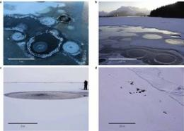 Environmental group measures methane seeps in the Arctic
