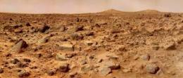 Study shows how to keep a Mars tumbleweed rover moving on rocky terrain